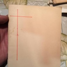 Libros de segunda mano: ANTIGUO LIBRO RELIGIOSO MISSA I RITUAL DE CASAMENT AÑO 1966. Lote 159307558