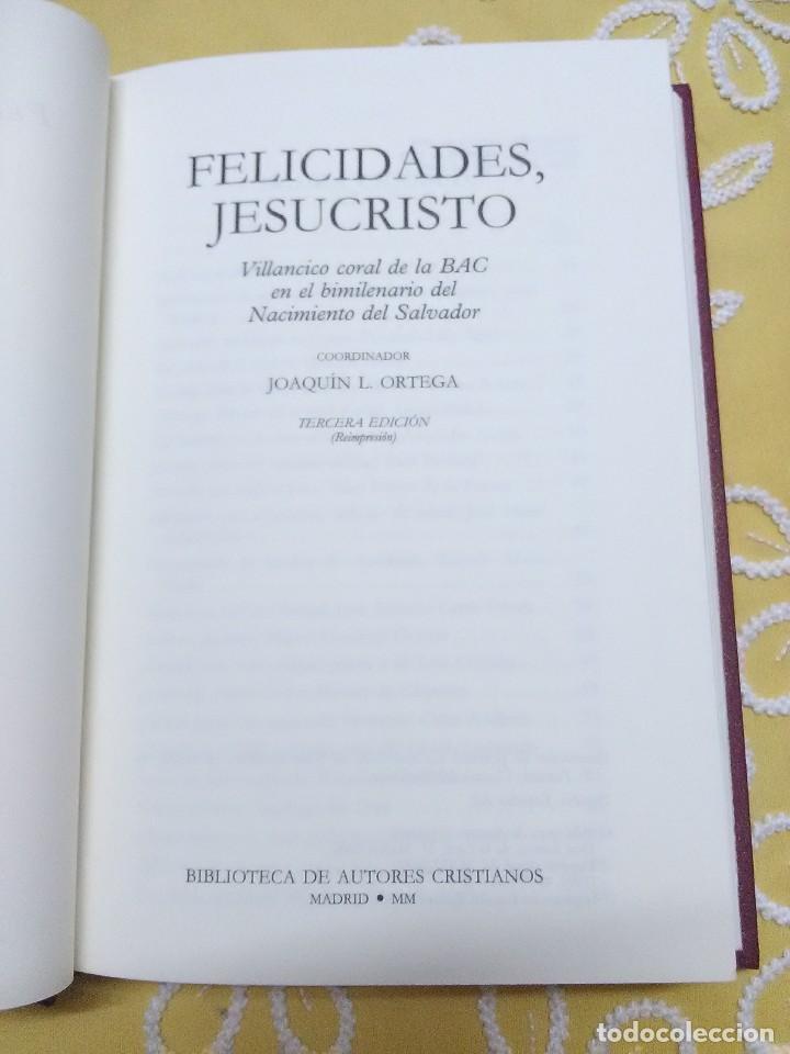 Libros de segunda mano: Felicidades, Jesucristo. Varios autores. BAC. 2000.. - Foto 2 - 159594338