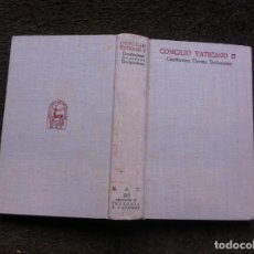 Libros de segunda mano: CASIMIRO MORCILLO. CONCILIO VATICANO II. ED. BAC, 1965. Lote 159735922