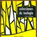 Libros de segunda mano: SELECCIONES DE TEOLOGIA 1977 - Nº 61. Lote 160032254