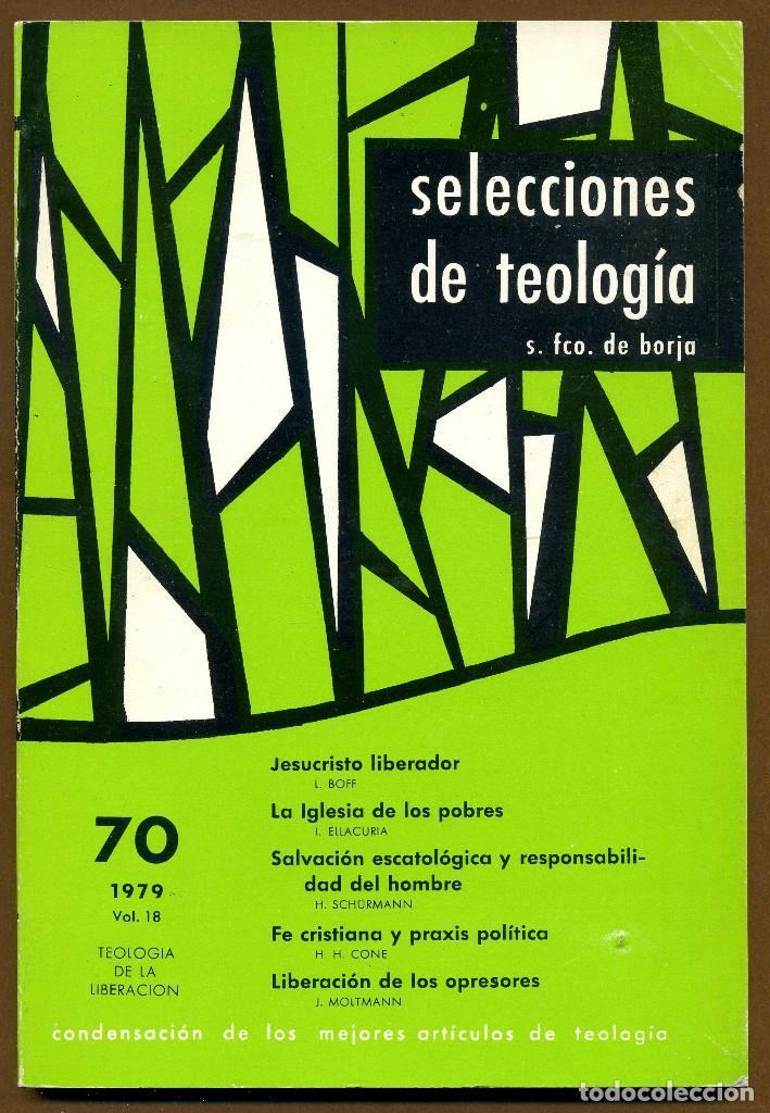 SELECCIONES DE TEOLOGIA 1979 - Nº 70 (Libros de Segunda Mano - Religión)