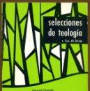 Libros de segunda mano: SELECCIONES DE TEOLOGIA 1979 - Nº 70. Lote 160032378