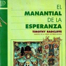 Libros de segunda mano: RADCLIFFE : EL MANANTIAL DE LA ESPERANZA (SALAMANCA, 2000). Lote 160444930