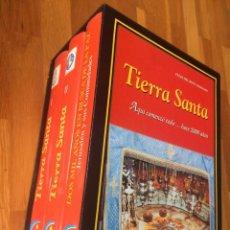 Libros de segunda mano: FÉLIX DEL BUEY : TIERRA SANTA - TRES TOMOS CON ESTUCHE. Lote 160473806
