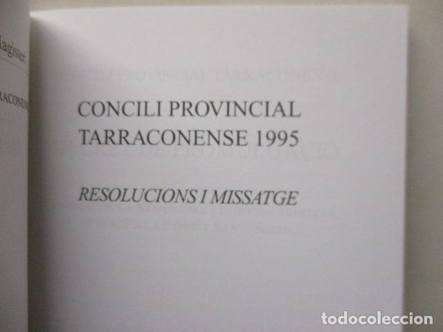 Libros de segunda mano: CONCILI PROVINCIAL TARRACONESE 1995 - MUY BUEN ESTADO - Foto 4 - 160944390