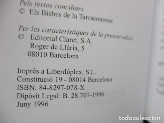 Libros de segunda mano: CONCILI PROVINCIAL TARRACONESE 1995 - MUY BUEN ESTADO - Foto 8 - 160944390