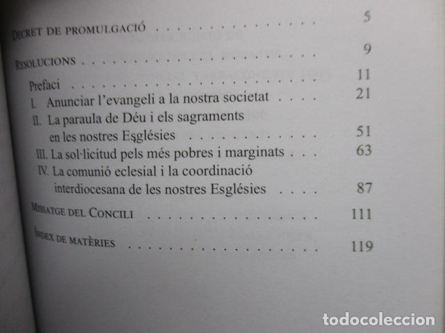 Libros de segunda mano: CONCILI PROVINCIAL TARRACONESE 1995 - MUY BUEN ESTADO - Foto 9 - 160944390