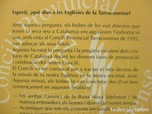 Libros de segunda mano: CONCILI PROVINCIAL TARRACONESE 1995 - MUY BUEN ESTADO - Foto 10 - 160944390