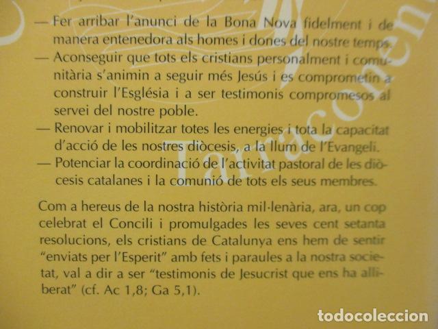 Libros de segunda mano: CONCILI PROVINCIAL TARRACONESE 1995 - MUY BUEN ESTADO - Foto 11 - 160944390