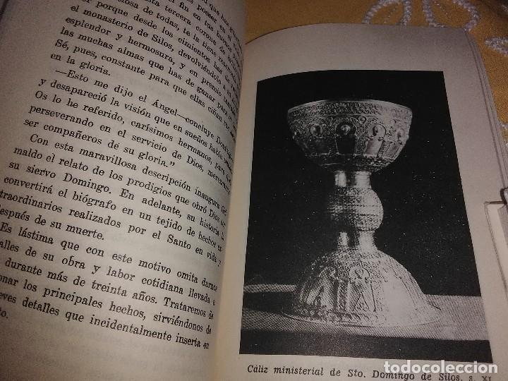 Libros de segunda mano: Vida y milagros de Santo Domingo de Silos. Gutiérrez. Ab. Silos. 1973. 3 Ed. - Foto 3 - 161183138