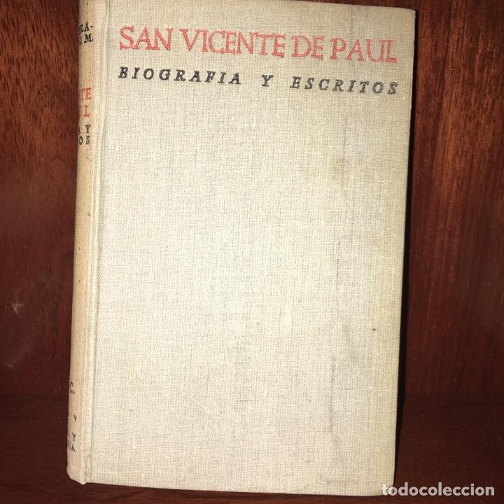 SAN VICENTE DE PAUL BAC (Libros de Segunda Mano - Religión)