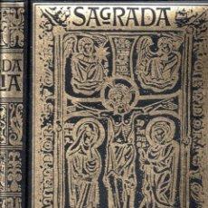 Libros de segunda mano: SAGRADA BIBLIA (UNALI, 1979) GRAN FORMATO. Lote 161449378