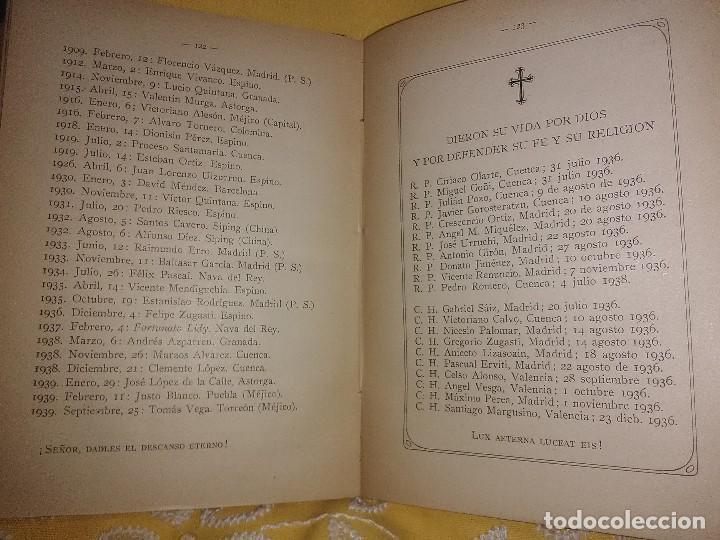Libros de segunda mano: Recuerdo del Noviciado (Redentoristas). R. Cavero. PS. 1939. - Foto 4 - 161604170