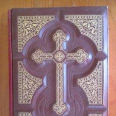Libros de segunda mano: LA SAGRADA BIBLIA TRADUCIDA DE LA VULGATA LATINA AL ESPAÑOL. FÉLIX TORRES AMAT. TOMO PRIMERO 1953. Lote 212874961