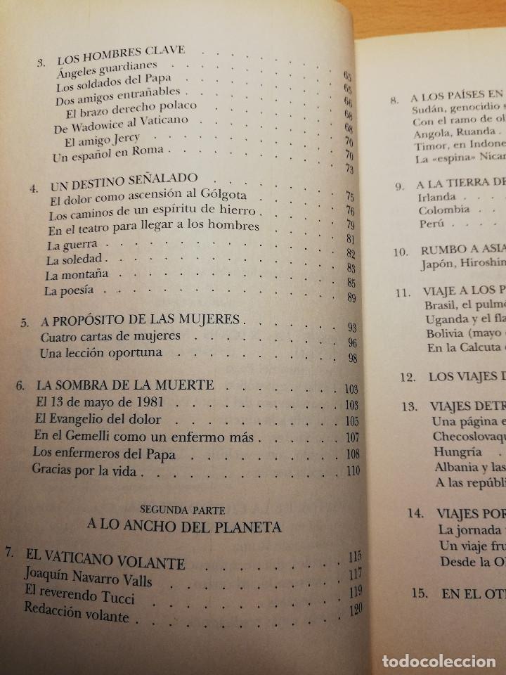 Libros de segunda mano: JUAN PABLO, AMIGO. LA VIDA COTIDIANA EN EL VATICANO (PALOMA GÓMEZ BORRERO) - Foto 5 - 162022542