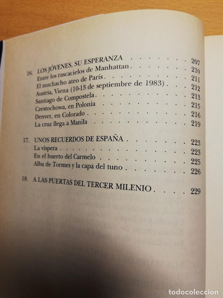 Libros de segunda mano: JUAN PABLO, AMIGO. LA VIDA COTIDIANA EN EL VATICANO (PALOMA GÓMEZ BORRERO) - Foto 7 - 162022542