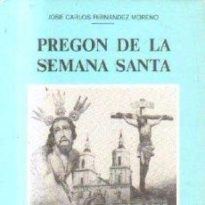 Libros de segunda mano: PREGON DE LA SEMANA SANTA. SAN FERNANDO 1983. A-SESANTA-1640. Lote 162302498