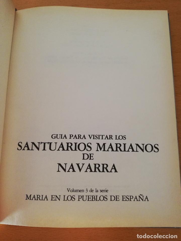 Libros de segunda mano: GUÍA PARA VISITAR LOS SANTUARIOS MARIANOS DE NAVARRA (EDICIONES ENCUENTRO) - Foto 2 - 162449394