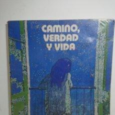 Libros de segunda mano: CAMINO, VERDAD Y VIDA, CATECISMO ESCOLAR 5°EGB. Lote 162579734