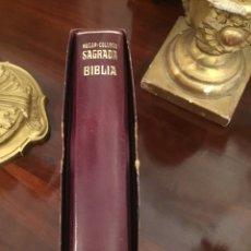 Libri di seconda mano: SAGRADA BIBLIA NÁCAR-COLUNGA, SAGRADAS ESCRITURAS, VIGÉSIMA EDICIÓN, 1966. Lote 162618333