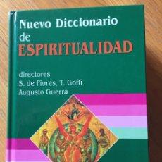 Libros de segunda mano: NUEVO DICCIONARIO DE ESPIRITUALIDAD, S.DE FIORES, T.GOFFI, AUGUSTO GUERRA . Lote 162912966