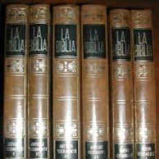 Libros de segunda mano: LA BIBLIA BAC MIÑON - 6 TOMOS (1970). Lote 163100266
