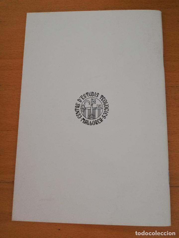 Libros de segunda mano: RAMON LLULL I LA SEVA TEOLOGIA DE LA IMMACULADA (JOSEP PERARNAU I ESPELT) - Foto 3 - 163571410