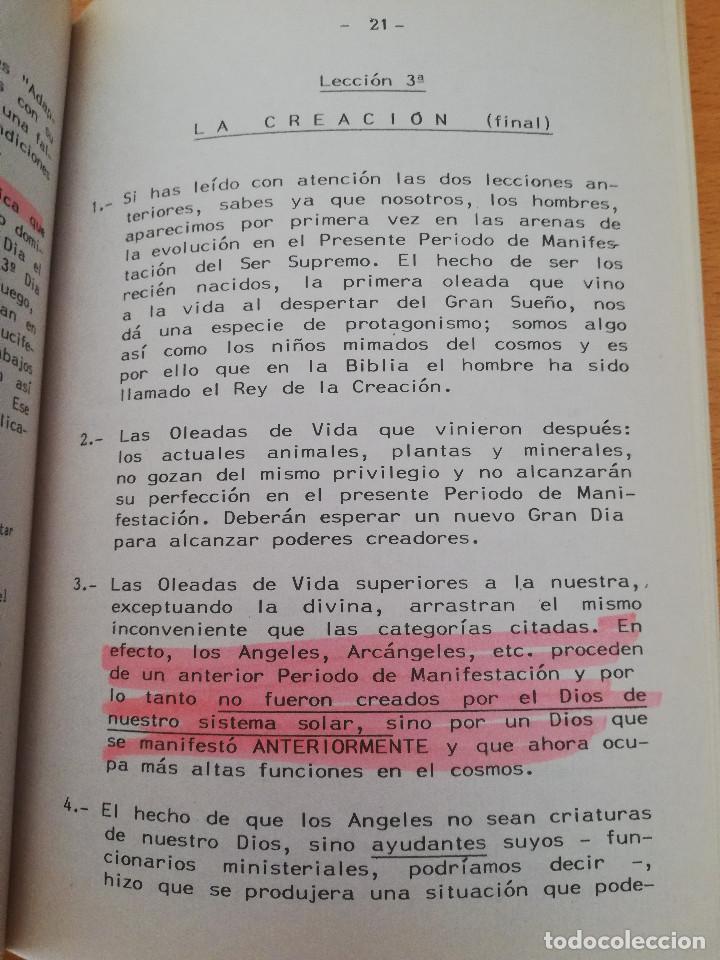 Libros de segunda mano: CURSO DE INICIACIÓN A LOS MISTERIOS DE LA OBRA DIVINA (KABALEB) - Foto 4 - 163573038