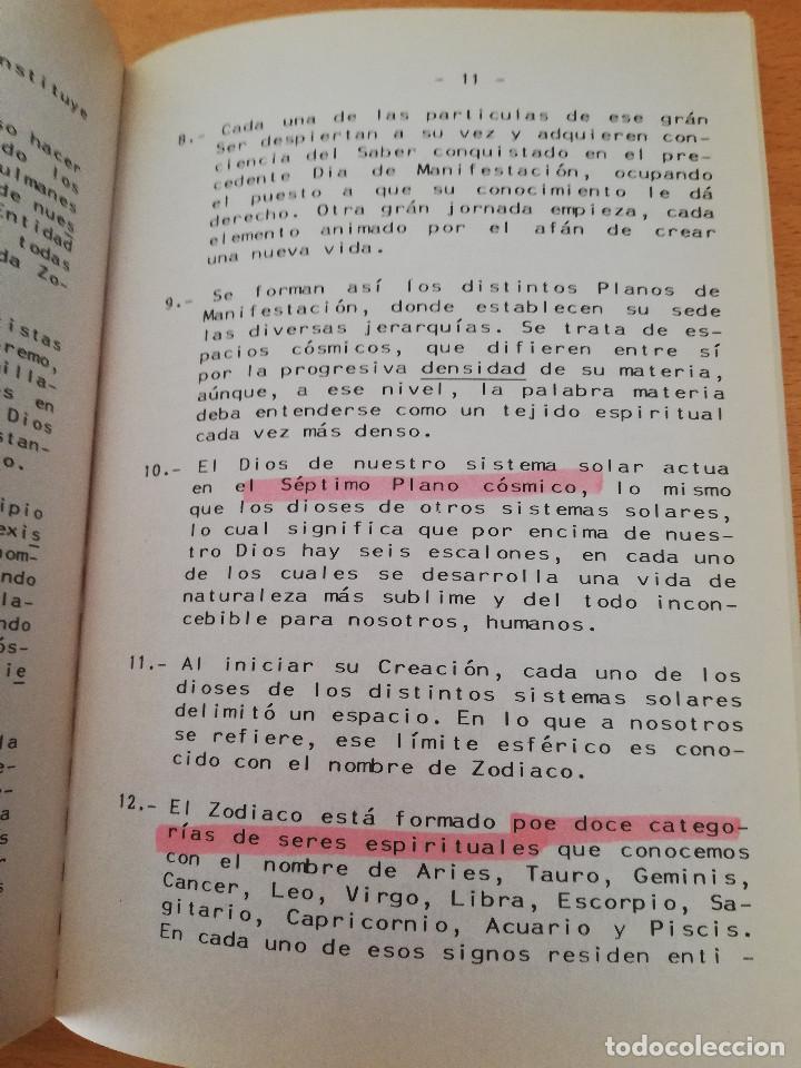Libros de segunda mano: CURSO DE INICIACIÓN A LOS MISTERIOS DE LA OBRA DIVINA (KABALEB) - Foto 5 - 163573038
