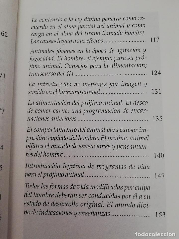 Libros de segunda mano: TÚ, EL ANIMAL. TÚ, EL HOMBRE ¿QUIÉN TIENE VALORES MÁS ELEVADOS? (LIOBANÍ) - Foto 5 - 163574250