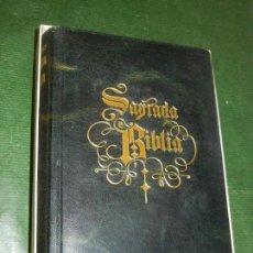 Libros de segunda mano: SAGRADA BIBLIA, NACAR - COLUNGA - BAC 1977 - EDICION PIEL EN CAJA ORIGINAL. Lote 163580290