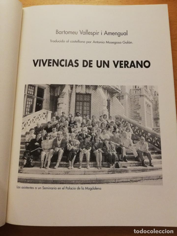 Libros de segunda mano: VIVENCIAS DE UN VERANO (BARTOMEU VALLESPIR I AMENGUAL) - Foto 2 - 163592378