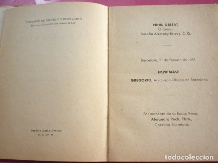 Libros de segunda mano: EL PEREGRINO. JUAN VALL HOMS. 1957 - Foto 2 - 163607394