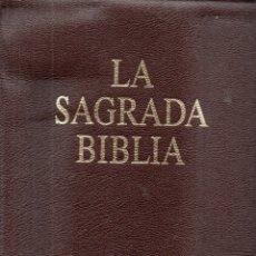 Libros de segunda mano: LA SAGRADA BIBLIA (RBA, 2003) BIBLIA DE JERUSALÉN GRAN FORMATO - CON LOS GRABADOS DE DORÉ. Lote 163963910