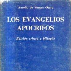 Livros em segunda mão: LOS EVANGELIOS APOCRCRIFOS.EDICION CRITICA Y BILINGÜE. A-RE-1348. Lote 277037958