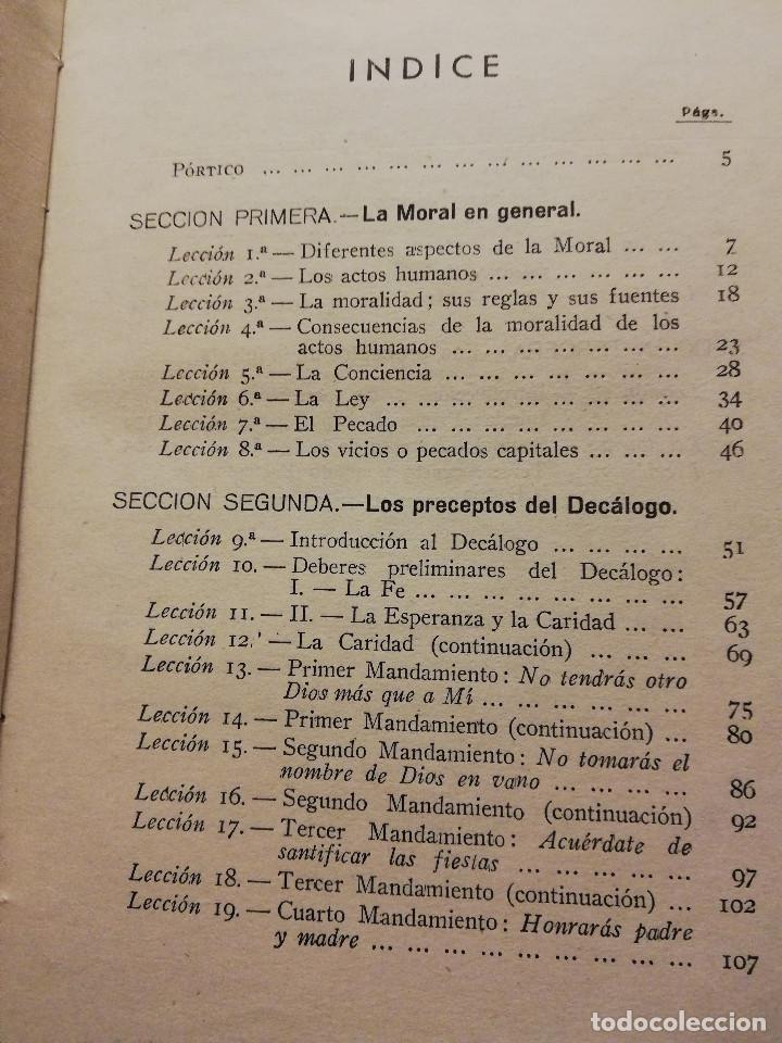 Libros de segunda mano: LA MORAL CATÓLICA (CIPRIANO MONTSERRAT, PBRO.) EDITORIAL LUMEN - Foto 3 - 164978450