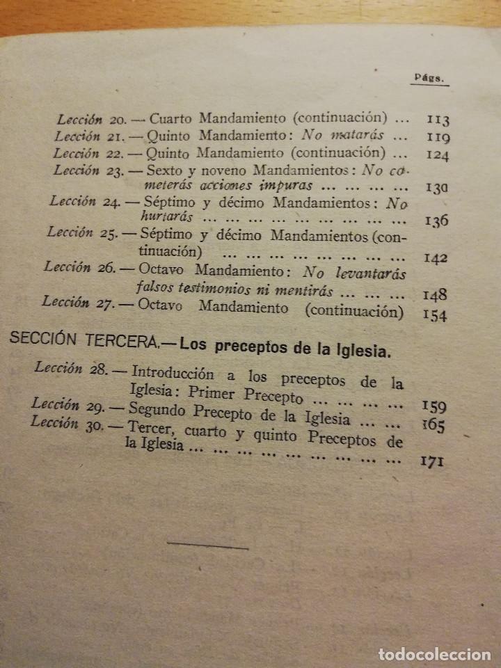Libros de segunda mano: LA MORAL CATÓLICA (CIPRIANO MONTSERRAT, PBRO.) EDITORIAL LUMEN - Foto 4 - 164978450