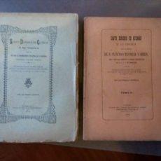 Libros de segunda mano: FRANCISCO TRAPIELLO Y SIERRA SANTO DOMINGO DE GUZMÁN Y SU ORDEN. 2 TOMOS. Lote 164847434