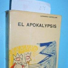 Livres d'occasion: EL APOKALYPSIS DE SAN JUAN. CASTELLANI, LEONARDO. ED. PAULINAS. FLORIDA 1963. Lote 165152446