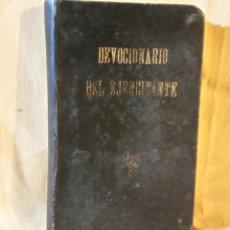 Libros de segunda mano: DEVOCIONARIO DEL EJERCITANTE 1949 REVISTA IBÉRICA - BARCELONA - RARO. Lote 165268962
