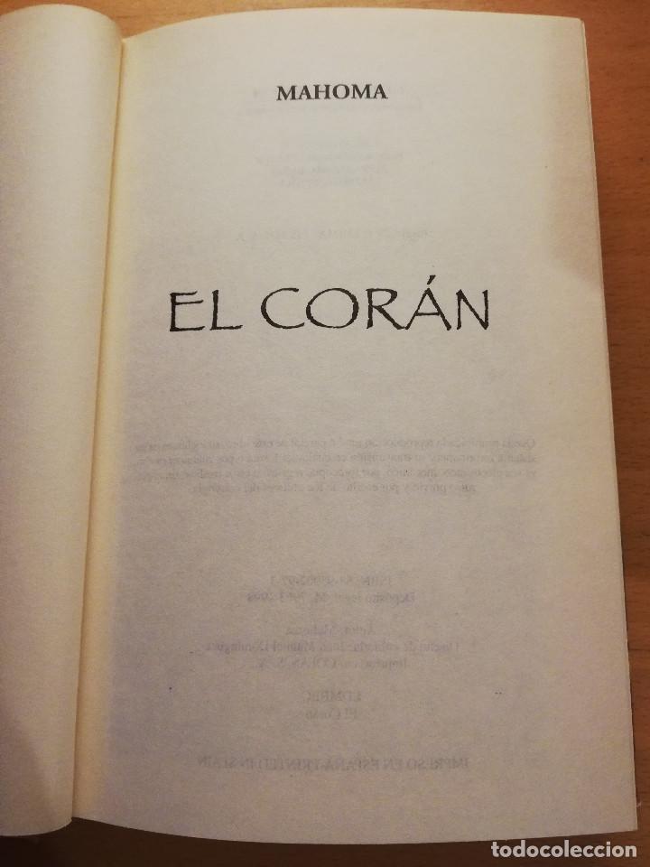 Libros de segunda mano: EL CORÁN. EL LIBRO SAGRADO DEL ISLAM - Foto 2 - 166280794