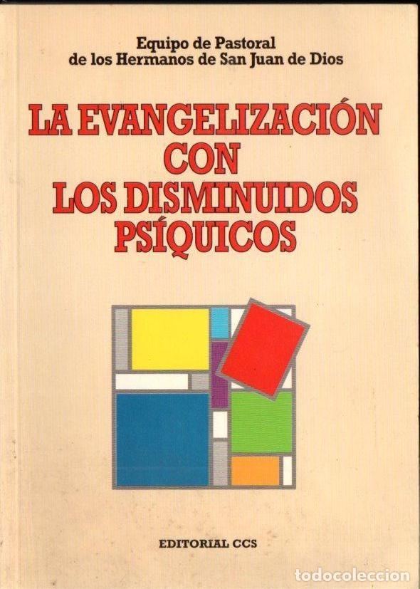 EQUIPO PASTORAL SAN JUAN DE DIOS : LA EVANGELIZACIÓN CON LOS DISMINUIDOS PSÍQUICOS (CCS, 1995) (Libros de Segunda Mano - Religión)