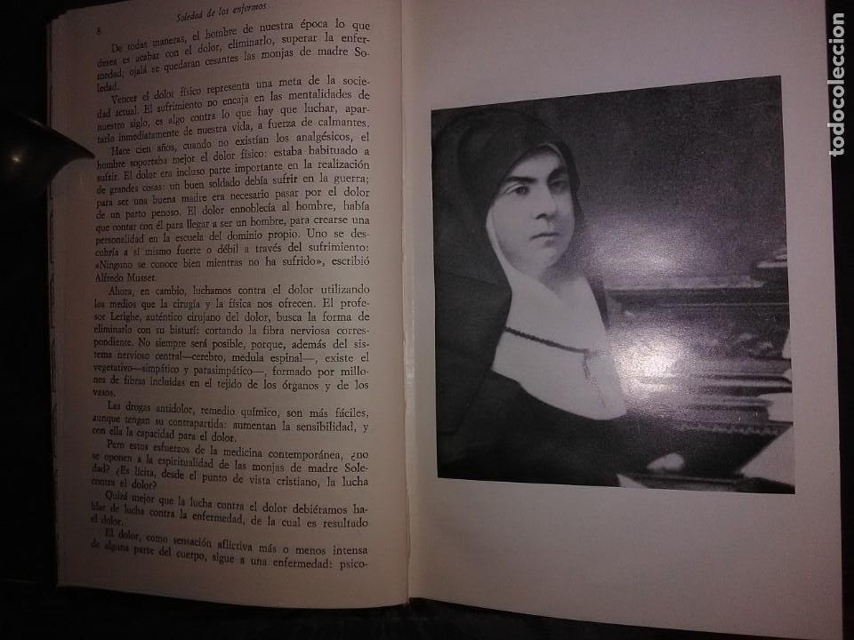 Libros de segunda mano: Soledad de los enfermos. (Soledad Torres Acosta). J. M. Javierre. BAC, n. 296. 1973. 2 Ed. - Foto 3 - 166853462