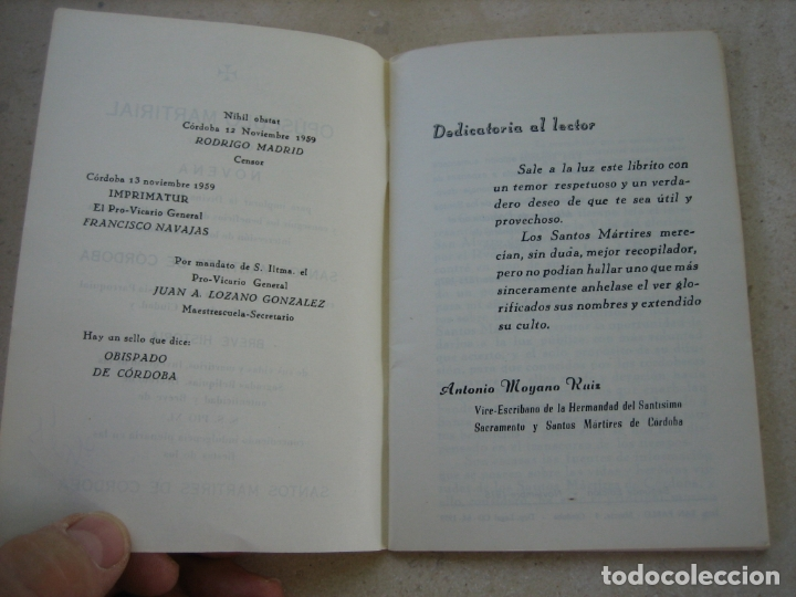 Libros de segunda mano: Los Santos mártires de Cordoba - Foto 3 - 166972224