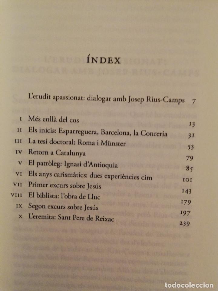 Libros de segunda mano: CONVERSES AMB JOSEP RIUS - CAMPS (IGNASI MORETA) - Foto 3 - 167194040