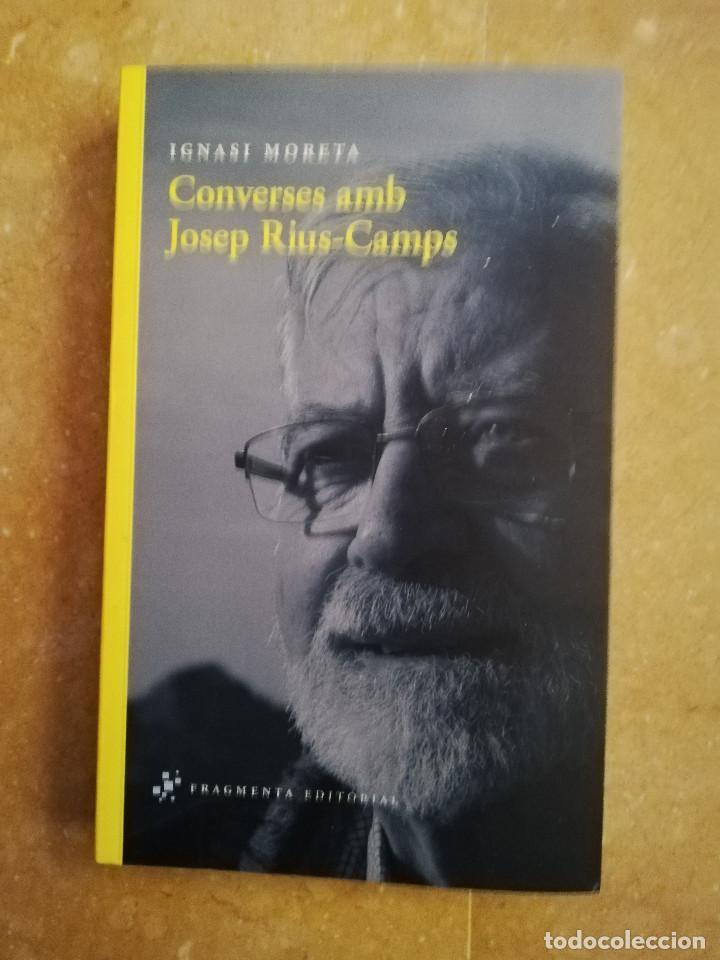 CONVERSES AMB JOSEP RIUS - CAMPS (IGNASI MORETA) (Libros de Segunda Mano - Religión)