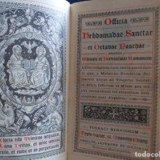 Libros de segunda mano: LIBRO RELIGIOSO EN LATIN NUMERADO 334. Lote 167207060