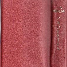 Libros de segunda mano: MONJOS DE MONTSERRAT . LA BÍBLIA PROFETES (CASAL I VALL, ANDORRA, 1967) CON ESTUCHE. Lote 167529944
