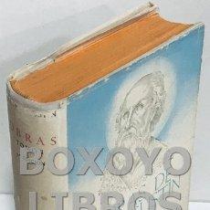 Libros de segunda mano: [SAN AGUSTÍN]. OBRAS DE SAN AGUSTÍN EN EDICIÓN BILINGÜE, BAJO LA DIRECCIÓN DE FÉLIX GARCÍA. TOMO I.. Lote 167768105