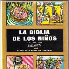 Libros de segunda mano: LA BIBLIA DE LOS NIÑOS - PIET WORM - PLAZA JANES. Lote 167903392